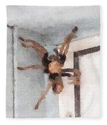Tarantula Fleece Blanket