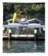 Taronga Zoo Wharf Fleece Blanket
