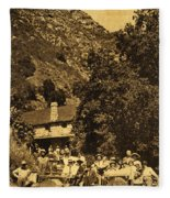Tassajara Hot Springs Monterey County Calif. 1915 Fleece Blanket