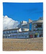 Tate Gallery St Ives Cornwall Fleece Blanket