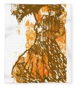 Tattered Parasol Fleece Blanket