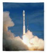 Taurus Rocket Launch Fleece Blanket