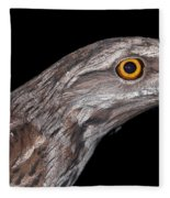 Tawny Frogmouth Fleece Blanket