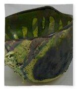 Tea Bowl #6 Fleece Blanket