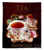 Tea Gallery Fleece Blanket