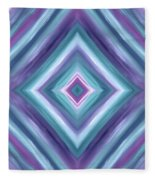 Teal One Diamond Dreams Fleece Blanket