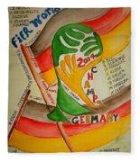 Team Germany Fifa Champions Fleece Blanket