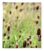 Teasel Meadow Fleece Blanket