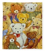 Ted Patch Fleece Blanket
