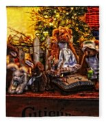 Teddy And Friends Fleece Blanket