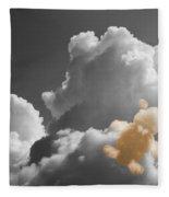 Teddy Bear Cloud Fleece Blanket