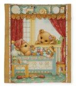 Teddy Bear Friends Fleece Blanket