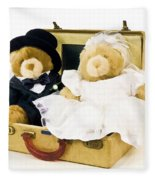 Teddy Bear Honeymoon Fleece Blanket
