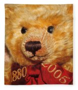 Teddy's Anniversary Fleece Blanket
