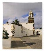 Teguise On Lanzarote Fleece Blanket