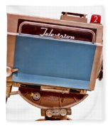 Television Studio Camera Hdr Fleece Blanket