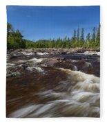 Temperance River 1 Fleece Blanket