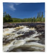 Temperance River 3 Fleece Blanket