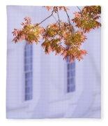Temple Accent Fleece Blanket