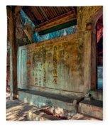 Temple Cave Fleece Blanket