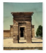 Temple Of Debod Fleece Blanket