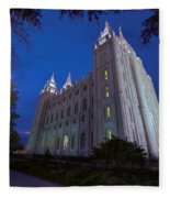 Temple Perspective Fleece Blanket