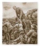 Temporary Major S.w. Loudoun-shand Fleece Blanket