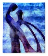 Tender Is The Night Fleece Blanket