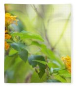 Tenderness Of Morning Fleece Blanket