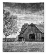 Tennessee Barn Fleece Blanket