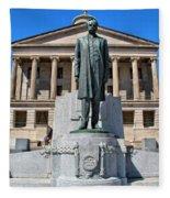 Tennessee Capitol Fleece Blanket