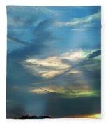 Tennessee Sunset Fleece Blanket