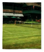Tennis Hall Of Fame 2.0 Fleece Blanket