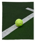 Tennis - The Baseline Fleece Blanket