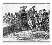Tennis Wimbledon, 1879 Fleece Blanket