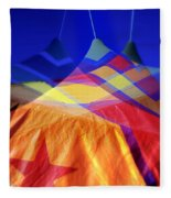 Tent Of Dreams Fleece Blanket