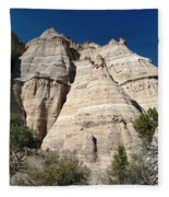 Tent Rocks 1 Fleece Blanket