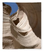 Tent Rocks Fleece Blanket