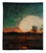 Tequila Sunrise Photo Art 03 Fleece Blanket