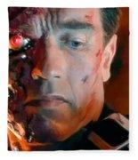 Terminator Fleece Blanket