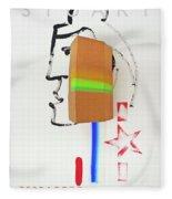 Terracotta Army Poster Fleece Blanket