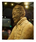 Terracotta Soldiers Fleece Blanket