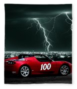 Tesla Fleece Blanket