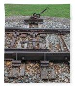 Switch Tracks Fleece Blanket