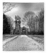 Testimonial Gateway Tower Fleece Blanket