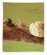 Tete A Tete Fleece Blanket