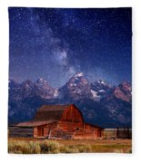 Teton Nights Fleece Blanket