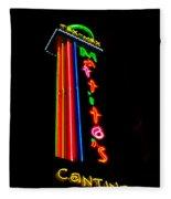 Tex Mex Cantina Neon Fleece Blanket