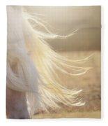 Texas Gold Fleece Blanket