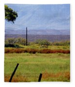 Texas Landscape 16095 Fleece Blanket